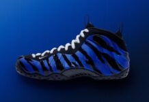 Nike Air Foamposite One Memphis Tigers Stripes BV8161-400 Release Date