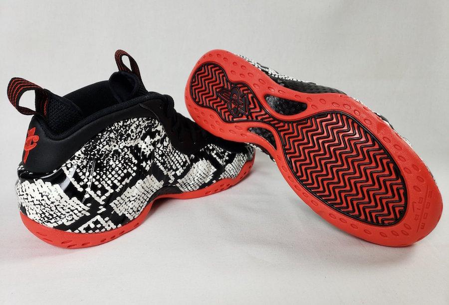 Nike Air Foamposte One Snakeskin 314996-101 Release Date Info