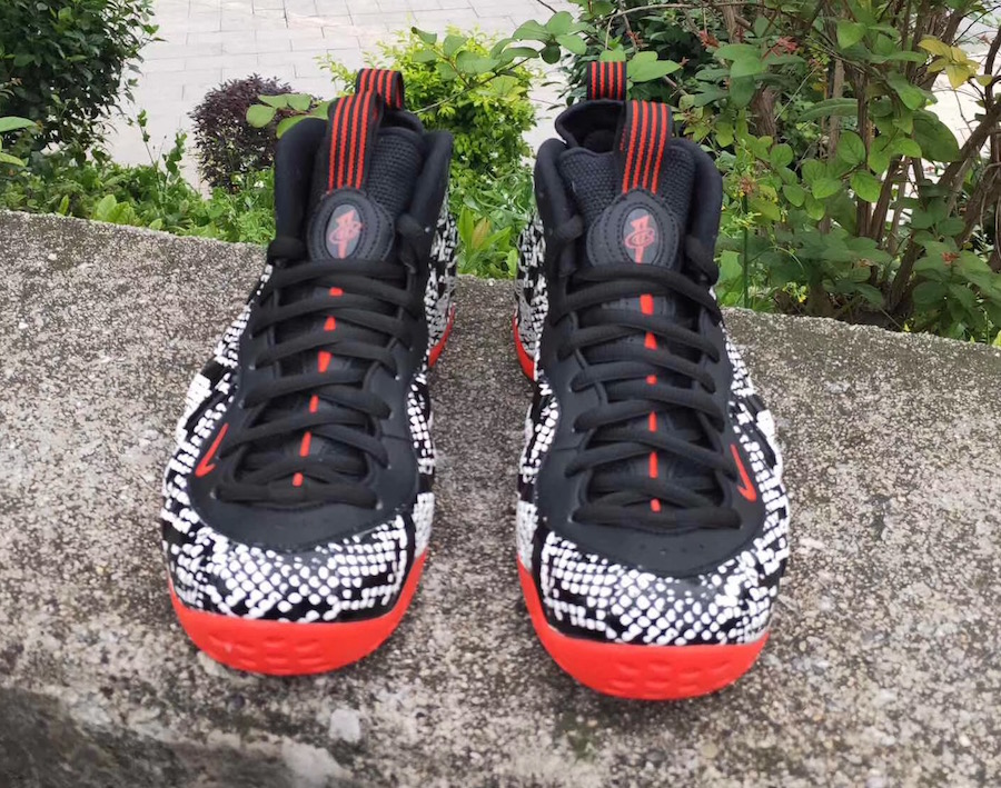 Nike Air Foamposite One Snakeskin 314996-101 Release Details