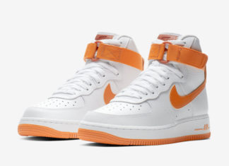 Nike Air Force 1 High White Orange 334031-109 Release Date
