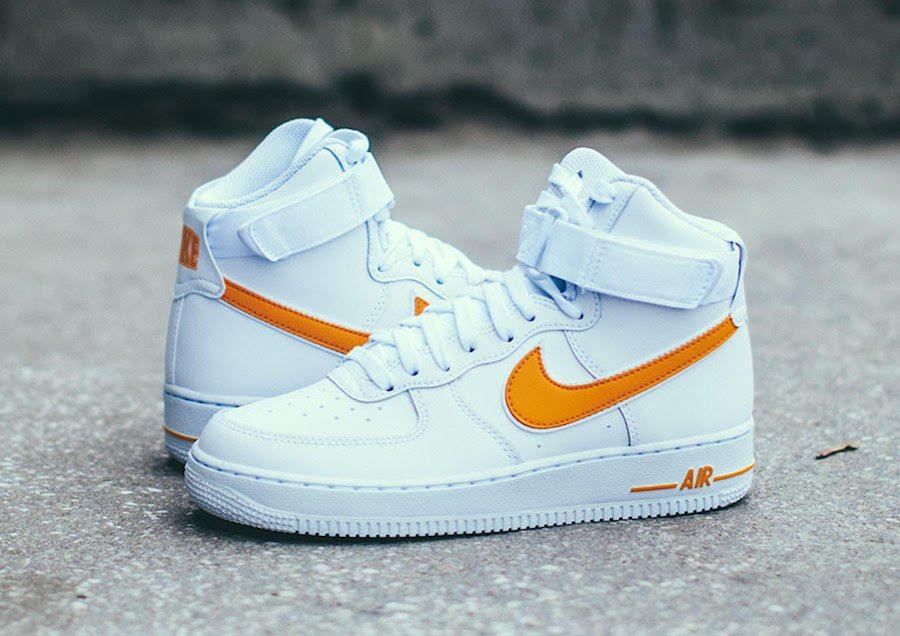 Nike Air Force 1 High White University Gold AT4141-101 Release Date