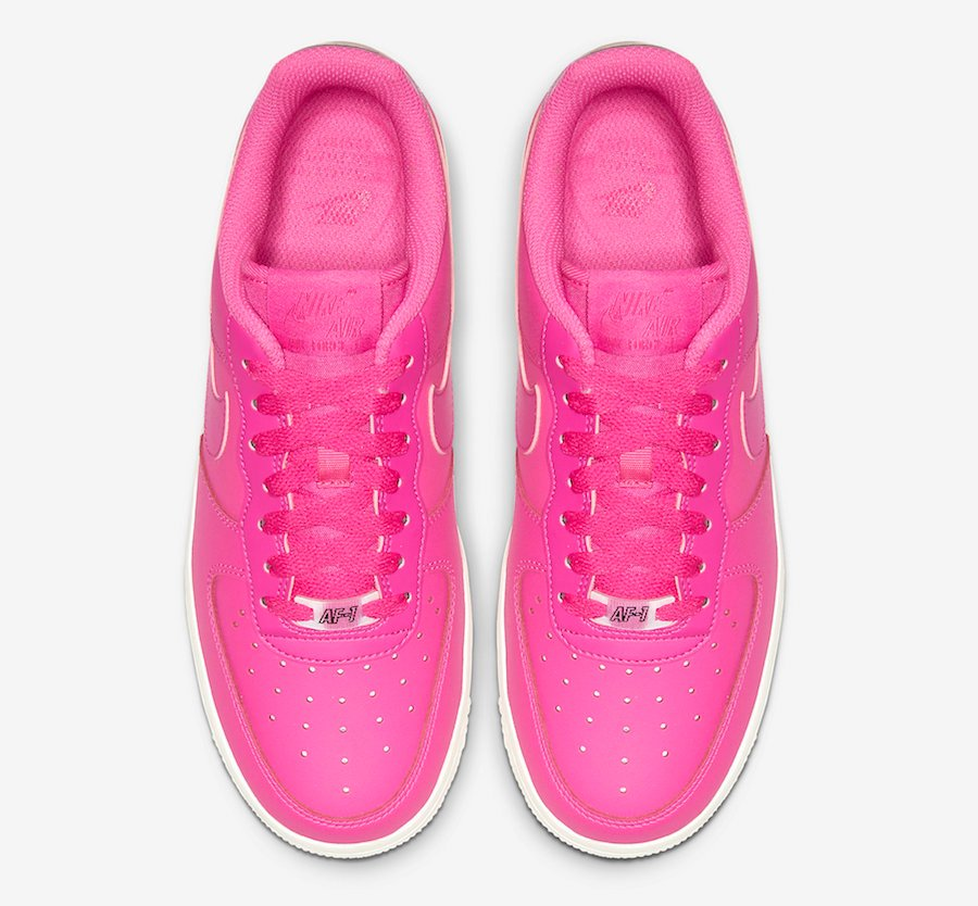 Nike Air Force 1 Low Laser Fuchsia AO2132-600 Release Date