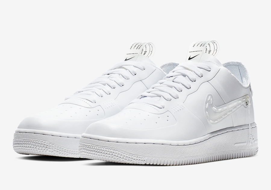 Nike Air Force 1 Low White Noise Cancelling CI5766-110 Release Date