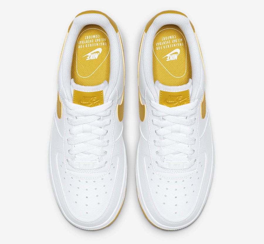 Nike Air Force 1 Low White Yellow AH0287-103 Release Date
