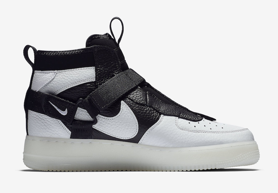 Nike Air Force 1 Utility Mid Orca AQ9758-100 Release Date