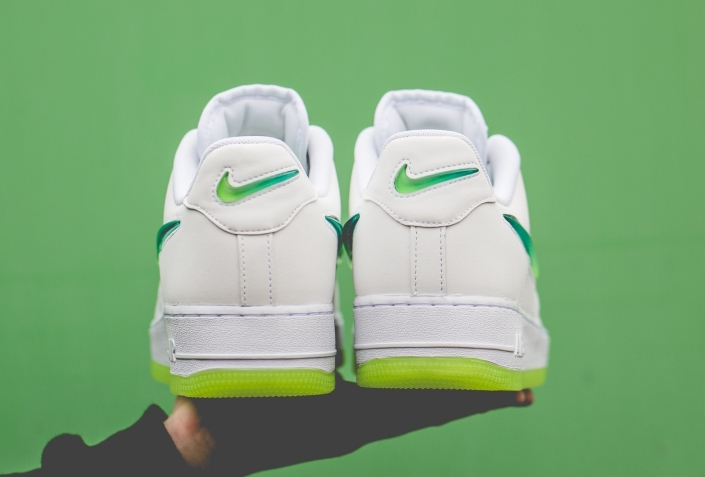 Nike Air Force 1 White Hyper Jade Volt AT4143-100 Release Date
