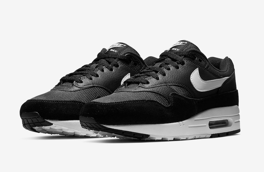 super popular 42e1d e8e25 Nike Air Max 1 Black White AH8145-014 Release Date