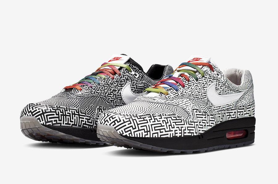 le dernier a925a ab71f Nike Air Max 1 Tokyo Maze CI1505-001 Release Date | SneakerFiles
