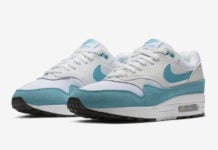 Nike Air Max 1 White Turquoise 319986-117 Release Date