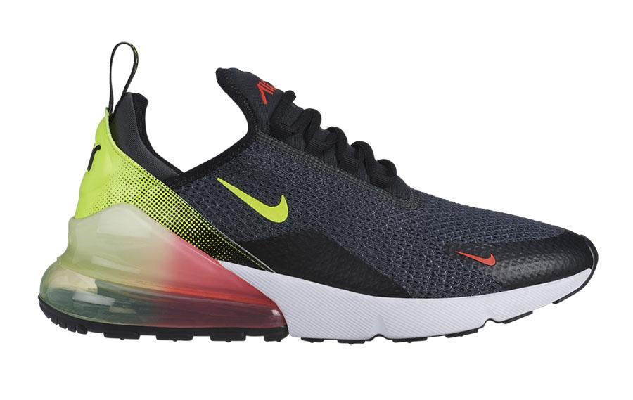 Nike Air Max 270 Anthracite Volt Black Bright Crimson AQ9164-005 Release Date