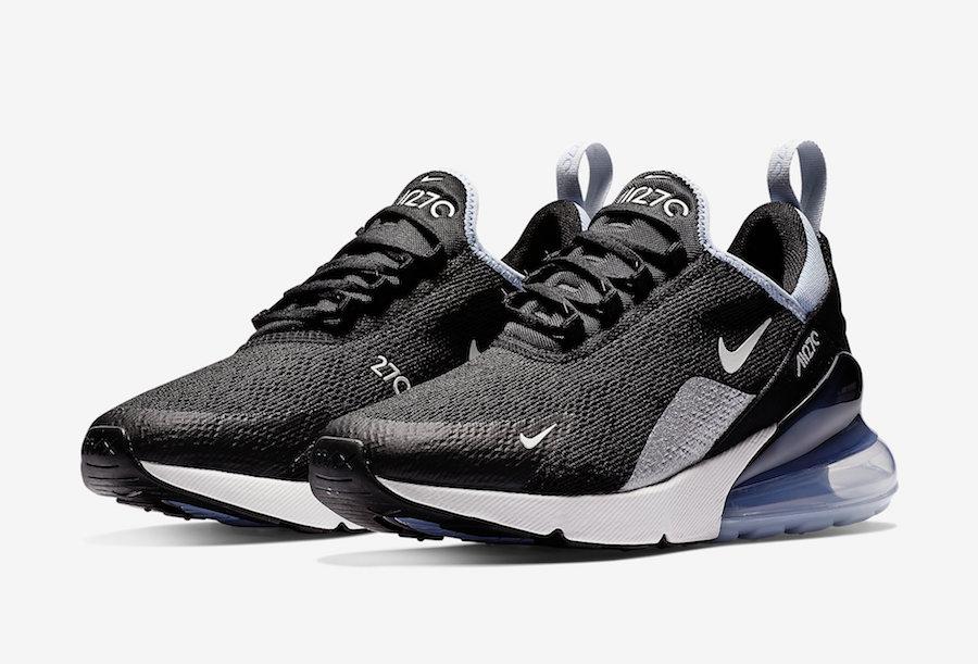 Nike Air Max 270 Black White Aluminum AH6789-009 Release Date
