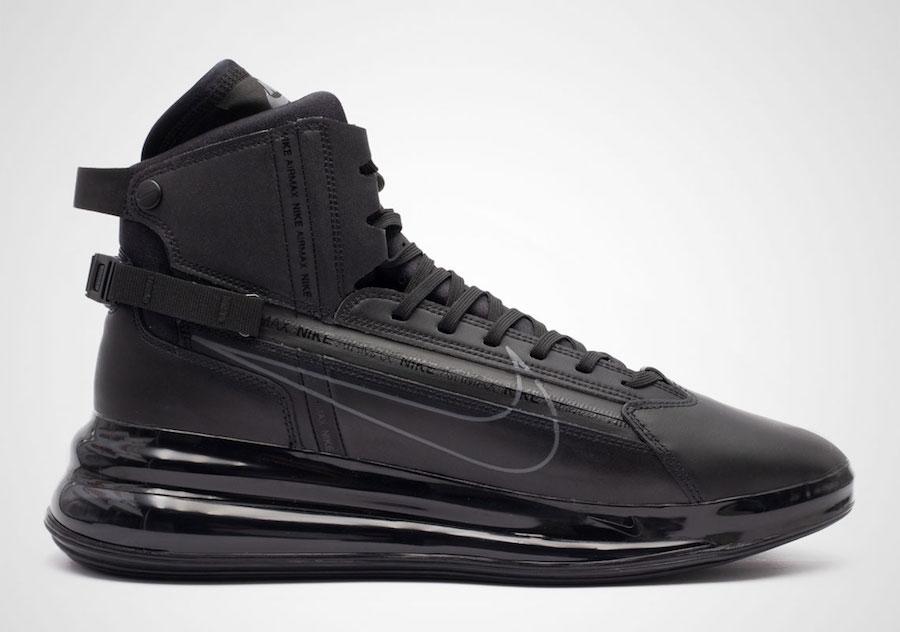 Nike Air Max 720 Saturn Black AO2110-001 Release Date