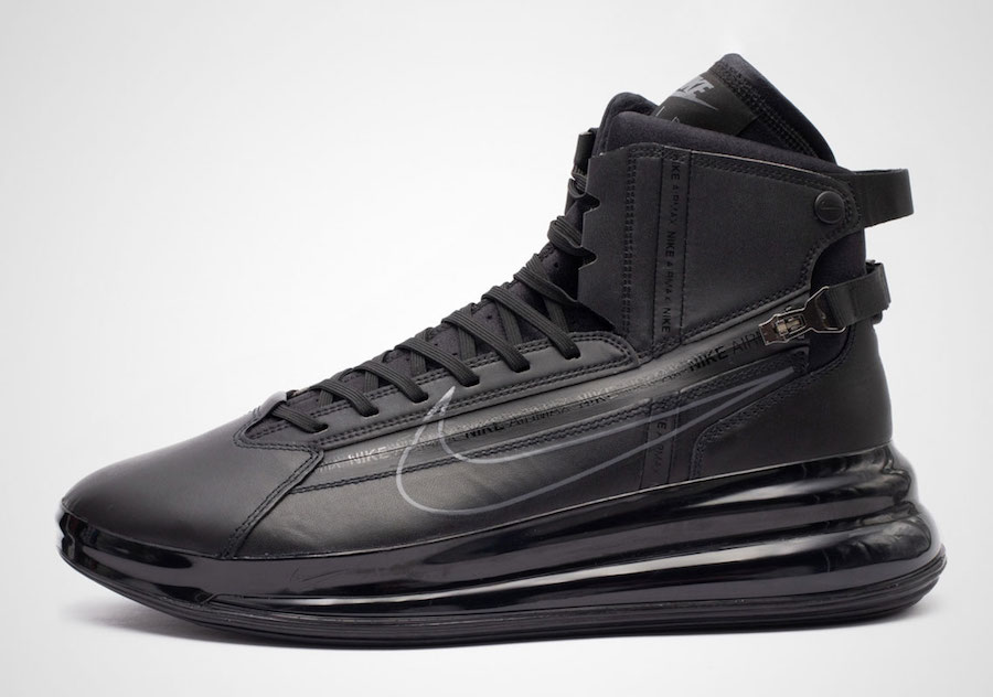 brand new 78aa3 88b71 Nike Air Max 720 Saturn Black AO2110-001 Release Date