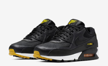 Nike Air Max 90 Black Yellow AJ1285-022 Release Date