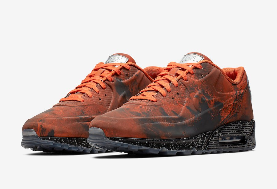 half off 6f628 7035a Nike Air Max 90 Mars Landing Mars Stone Magma Orange CD0920-600 Release Date
