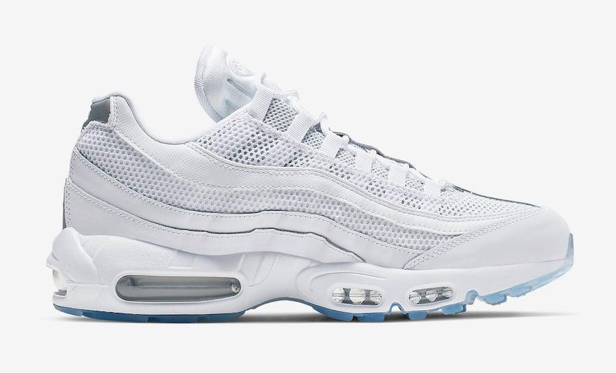 Nike Air Max 95 Essential White Silver 749766-115 Release Date
