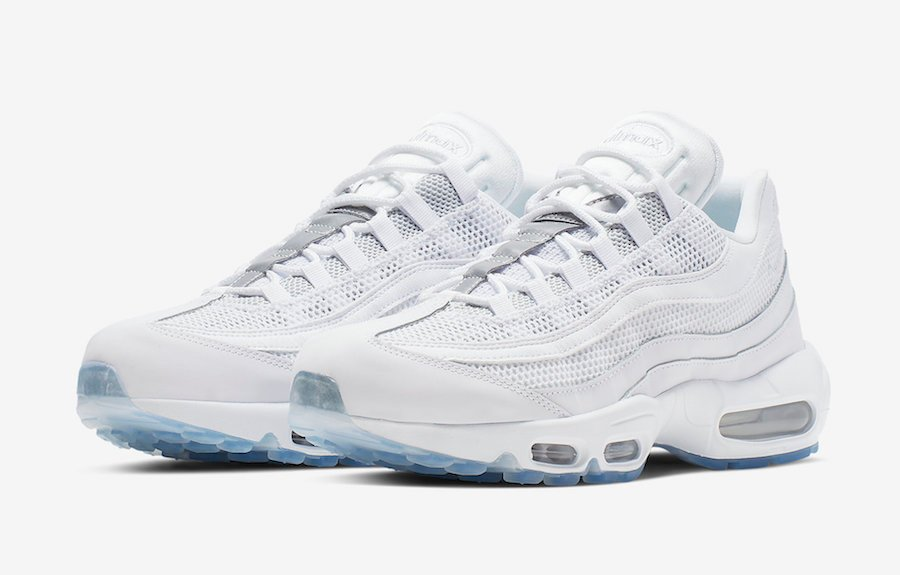 online store 73c8d 7581a Nike Air Max 95 Essential White Silver 749766-115 Release ...