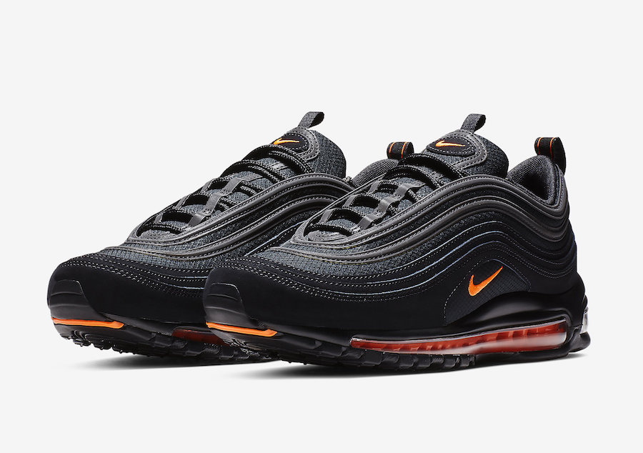 3e38b1196a Nike Air Max 97 Black Hyper Crimson CD1531-001 Release Date ...