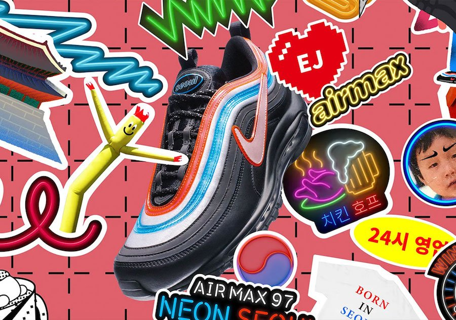 Nike Air Max 97 On Air Seoul CI1503-001 Release Date
