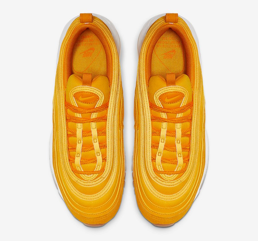 Nike Air Max 97 University Gold 917646-700 Release Date