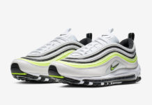 Nike Air Max 97 White Black Volt AQ4126-101 Release Date
