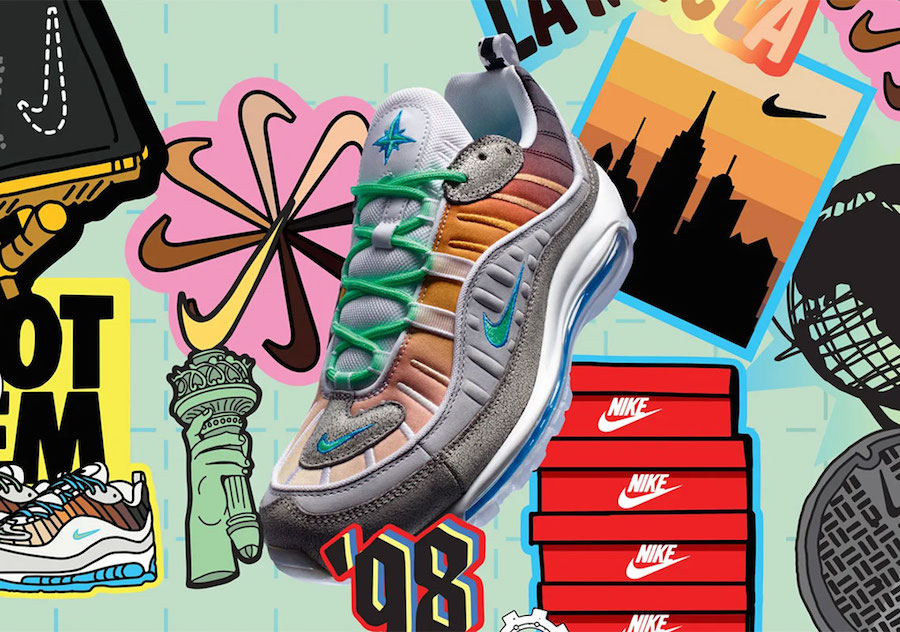 Nike Air Max 98 On Air NYC CI1502-001 Release Date