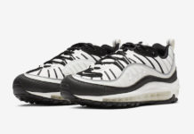 Nike Air Max 98 Sail Black Reflect Silver AH6799-113 Release Date