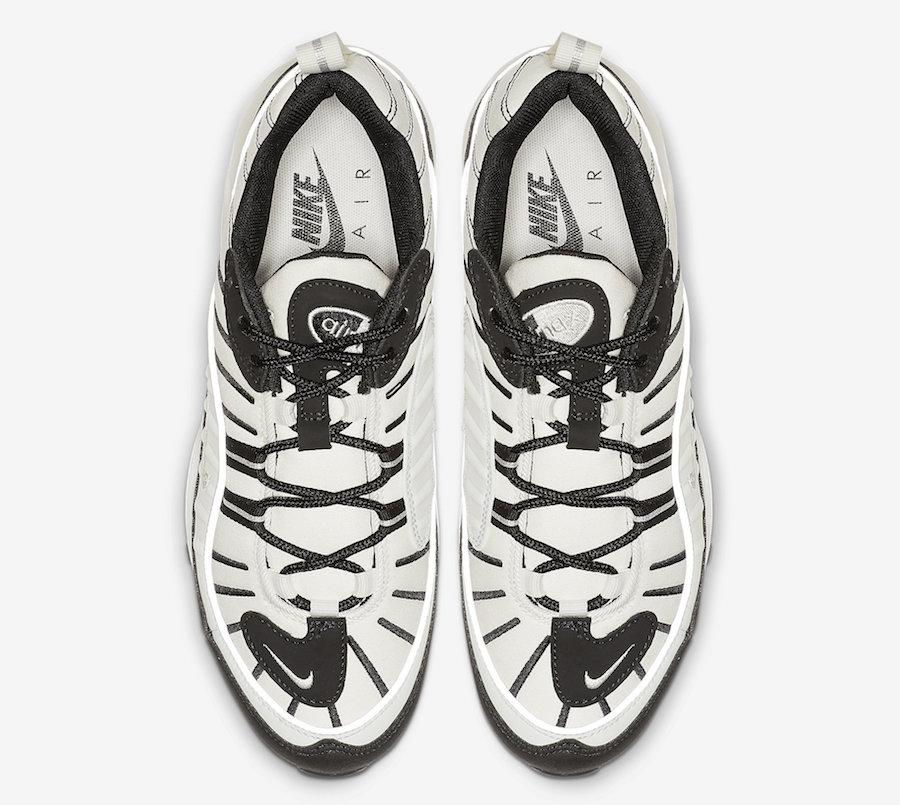 Nike Air Max 98 Sail Black Reflect Silver AH6799-113 Release Date