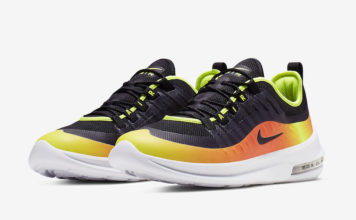 Nike Air Max Axis Premium Black Volt Total Orange AA2148-006 Release Date
