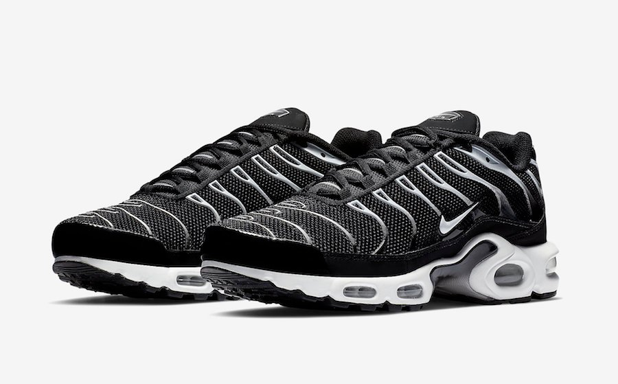 Nike Air Max Plus Black Reflect Silver 852630 038 Release Date