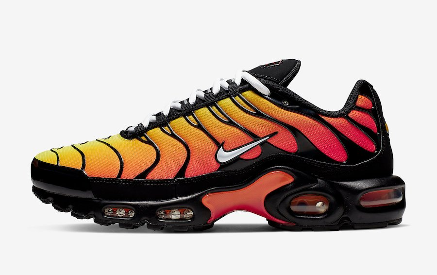 Nike Air Max Plus Tiger Black Orange 852630-040 Release Date