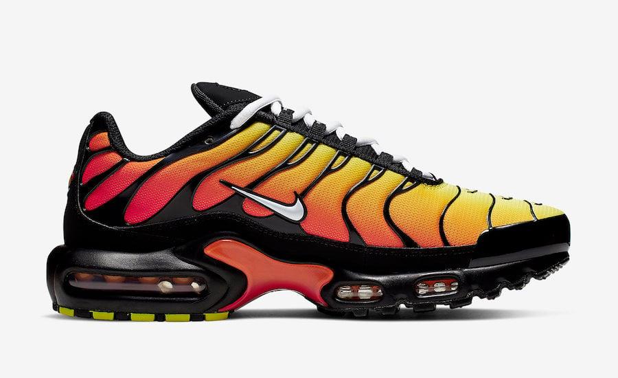 Nike Air Max Plus Tiger Black Orange 852630-040 Release Date