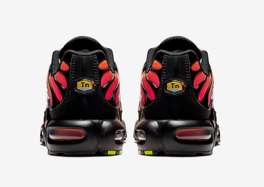 Nike Air Max Plus Tiger Black Orange 852630 040 Release Date