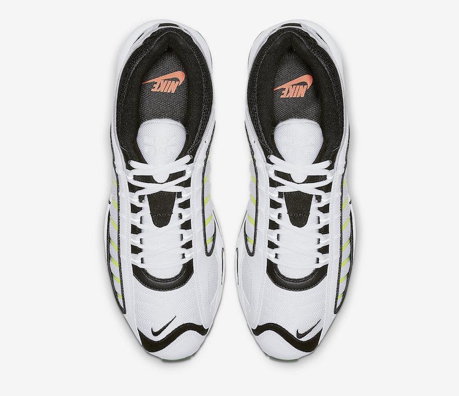 Nike Air Max Tailwind 4 White Volt Black AQ2567-100 Release Date