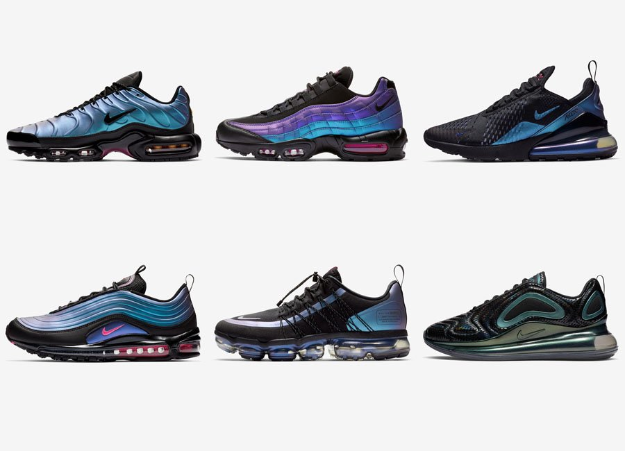 online store 8b242 e392e Nike Air Max Throwback Future Pack Release Date
