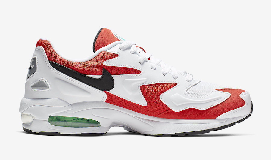 Nike Air Max2 Light Habanero Red AO1741-101 Release Date