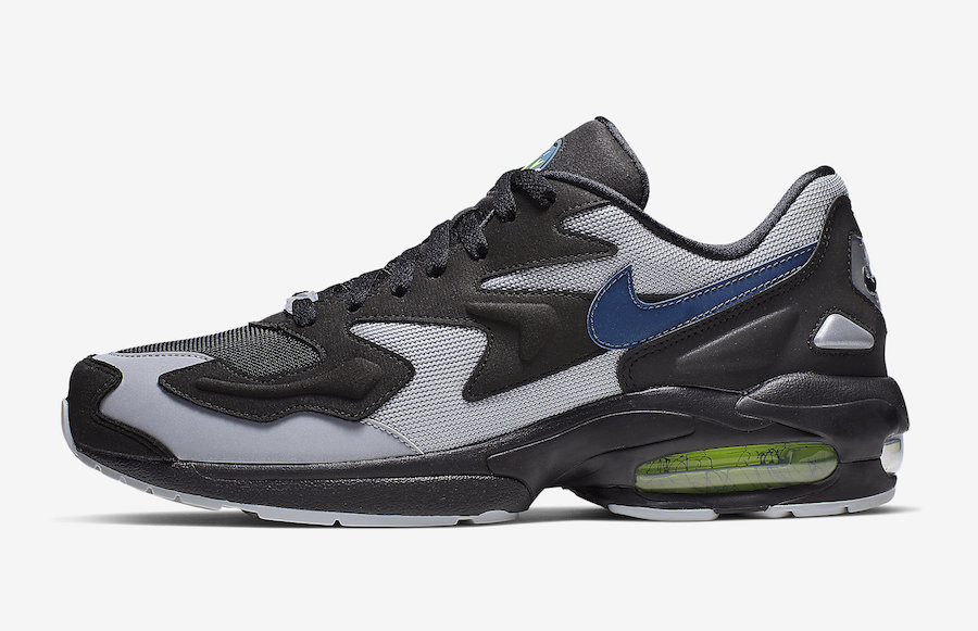 Nike Air Max2 Light Thunderstorm AO1741-002 Release Date
