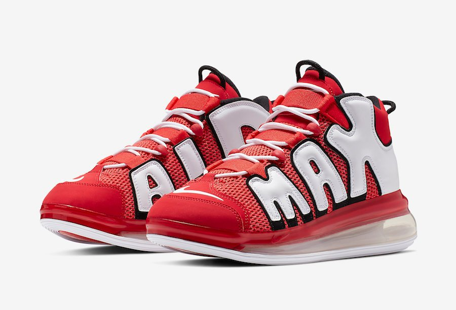 Nike Air More Uptempo 720 University Red CJ3662-600 Release Date