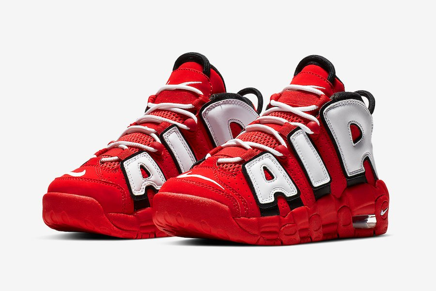 Nike Air More Uptempo Red White Black CD9402-600 Release Date