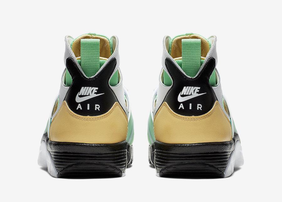 Nike Air Trainer Huarache White Gold Green 679083-108 Release Date