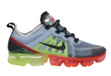 Nike Air VaporMax 2019 Pure Platinum Black Volt Bright Crimson AR6631-007 Release Date