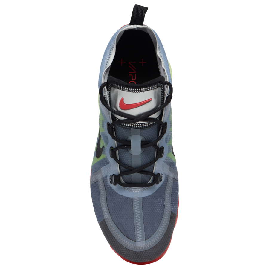 Nike Air VaporMax 2019 Pure Platinum Black Volt Bright Crimson AR6631-007 Release Date