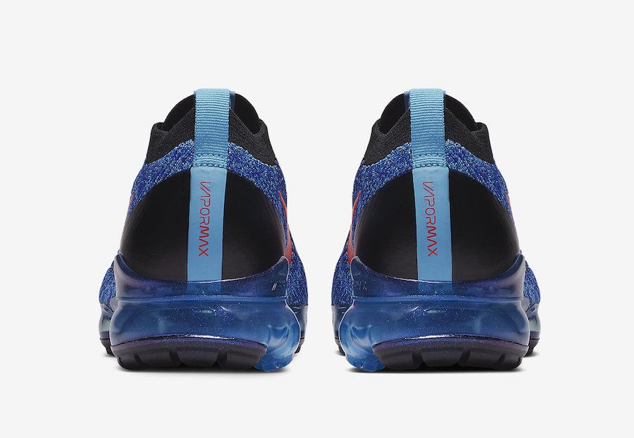 Nike Air VaporMax 3.0 Blue Fury Flash Crimson AJ6900-401 Release Date