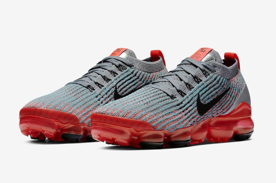d536bed2a0bac Nike Air VaporMax 3.0 Flash Crimson AJ6910-601 Release Date ...