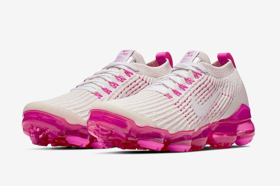 pink nike vapormax