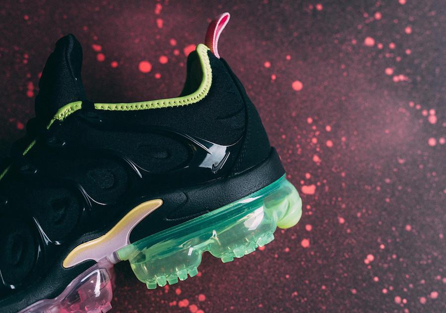 Nike Air VaporMax Plus Black Pink Rise CI6160-001 Release Date