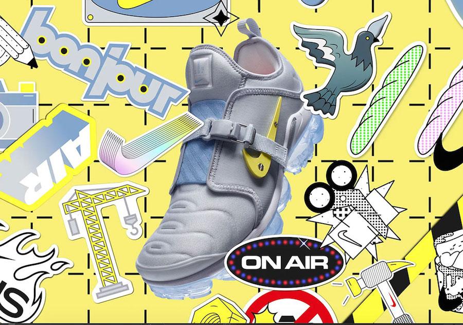 Nike Air VaporMax Plus On Air Paris CI1506-001 Release Date