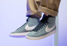 Nike Blazer Mid Aviator Grey Monsoon Blue AV9376-002 Release Date