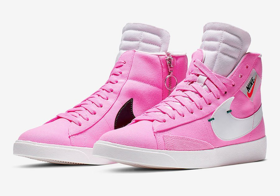 Nike Blazer Rebel Mid Psychic Pink BQ4022-602 Release Date