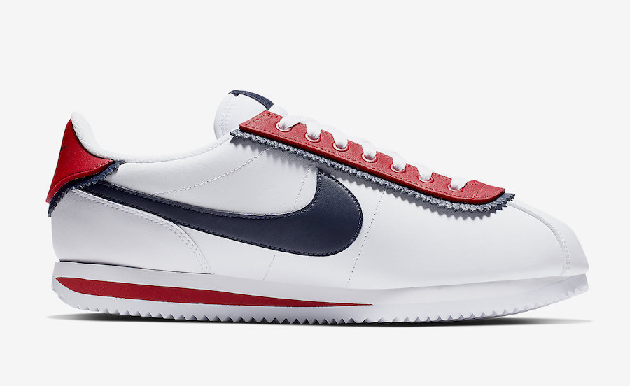 Nike Cortez Basic SE White University Red CD7253-100 Release Date